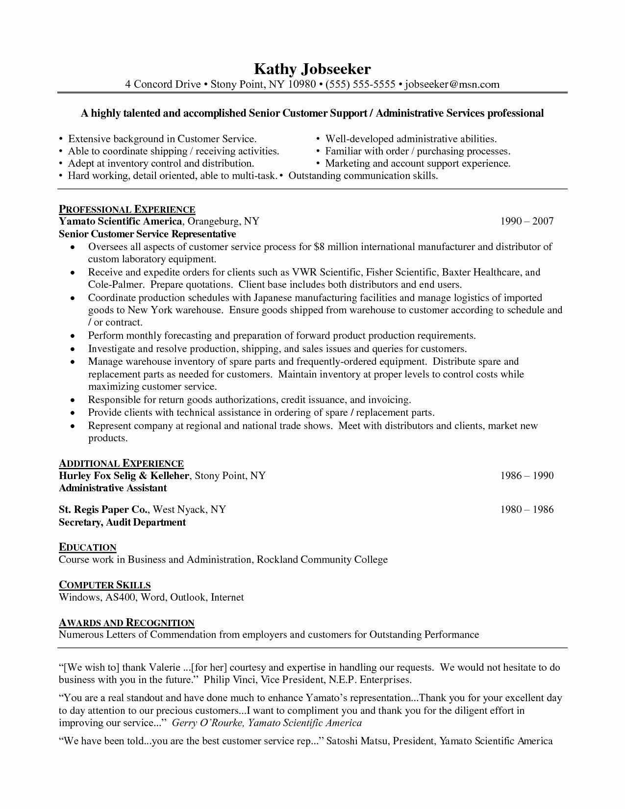 Entry Level Resume Cover Letter Awesome Resume Examples for Entry Level Customer Service