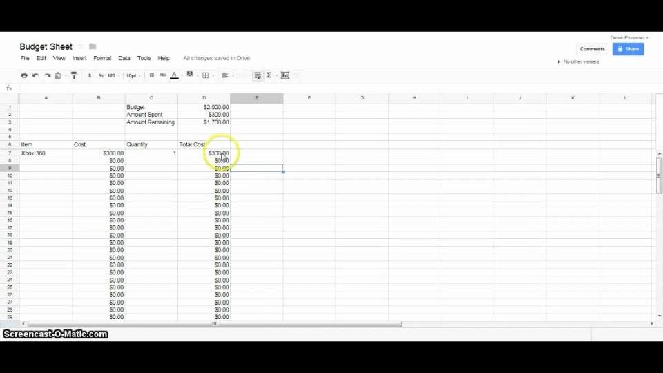 Event Budget Template Google Docs Awesome Professional Excel Spreadsheet as for Mac How to Make A