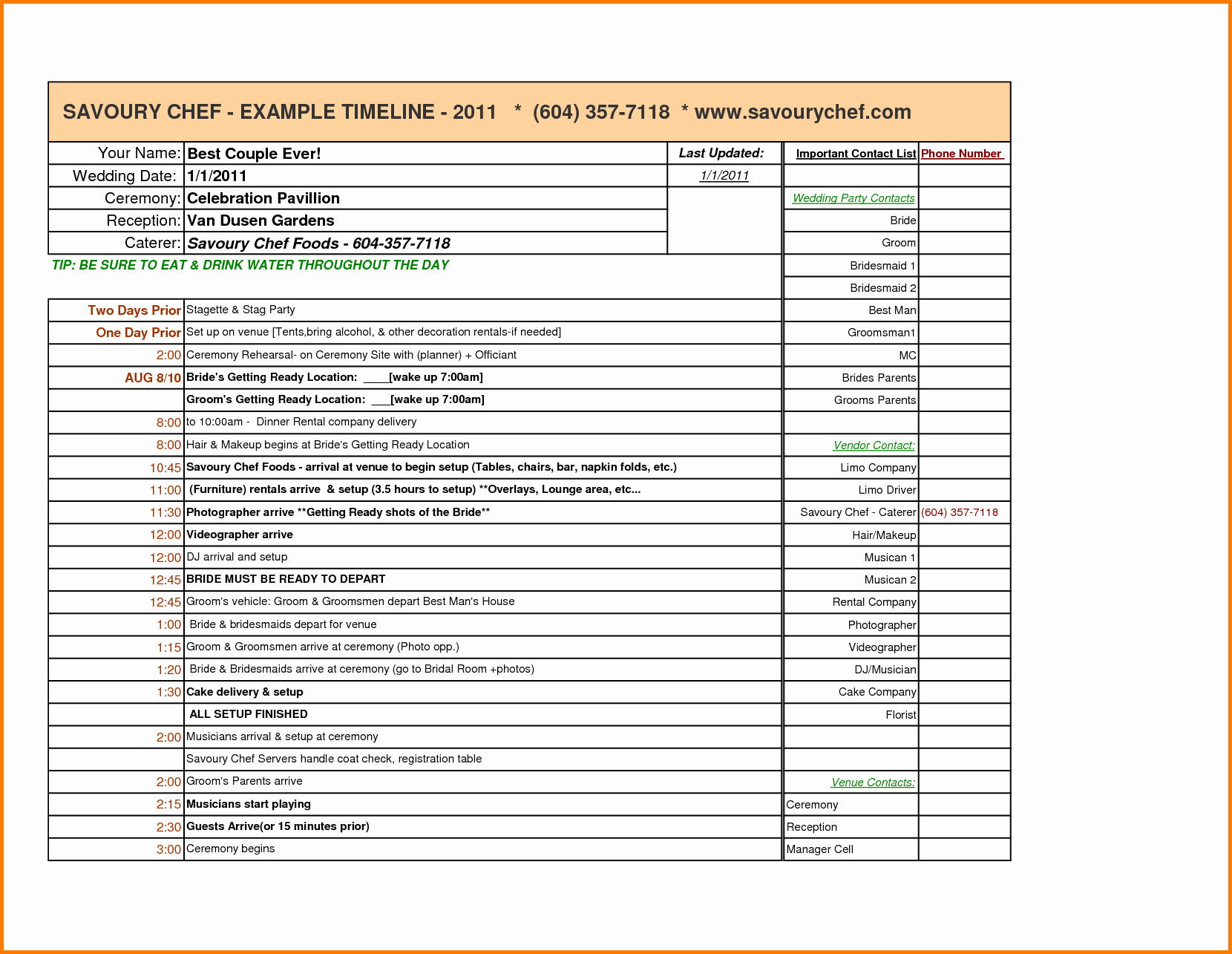 Event Planning Timeline Template Excel Beautiful Wedding Planning Timeline Template