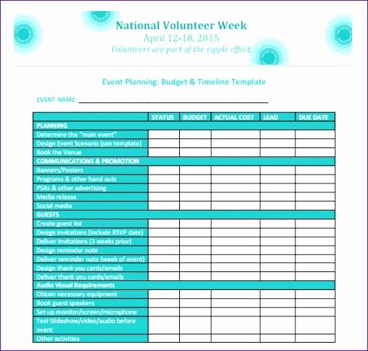 Event Planning Timeline Template Excel Best Of 11 event Planning Excel Template Exceltemplates
