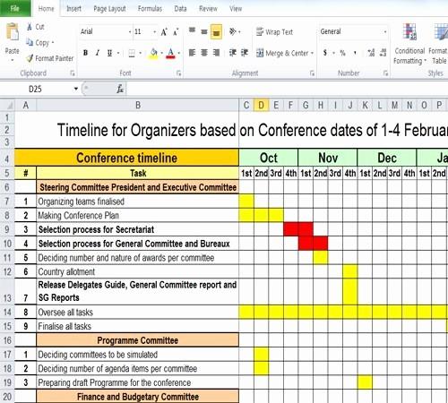 Event Planning Timeline Template Excel Best Of Free Timeline Spreadsheet Download Sample Timelines