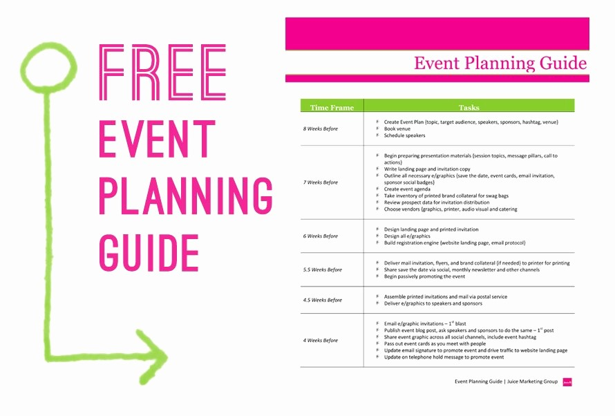 Event Planning Timeline Template Excel Lovely event Planner Timeline Template