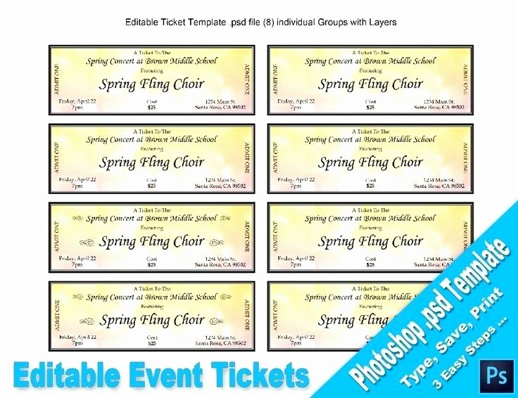 Event Tickets Template with Numbers Best Of Raffle Ticket Template for Word – Webbacklinksfo