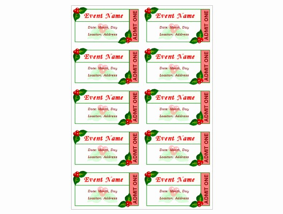 Event Tickets Template with Numbers Fresh How to Create Tickets for An event – Tutorial