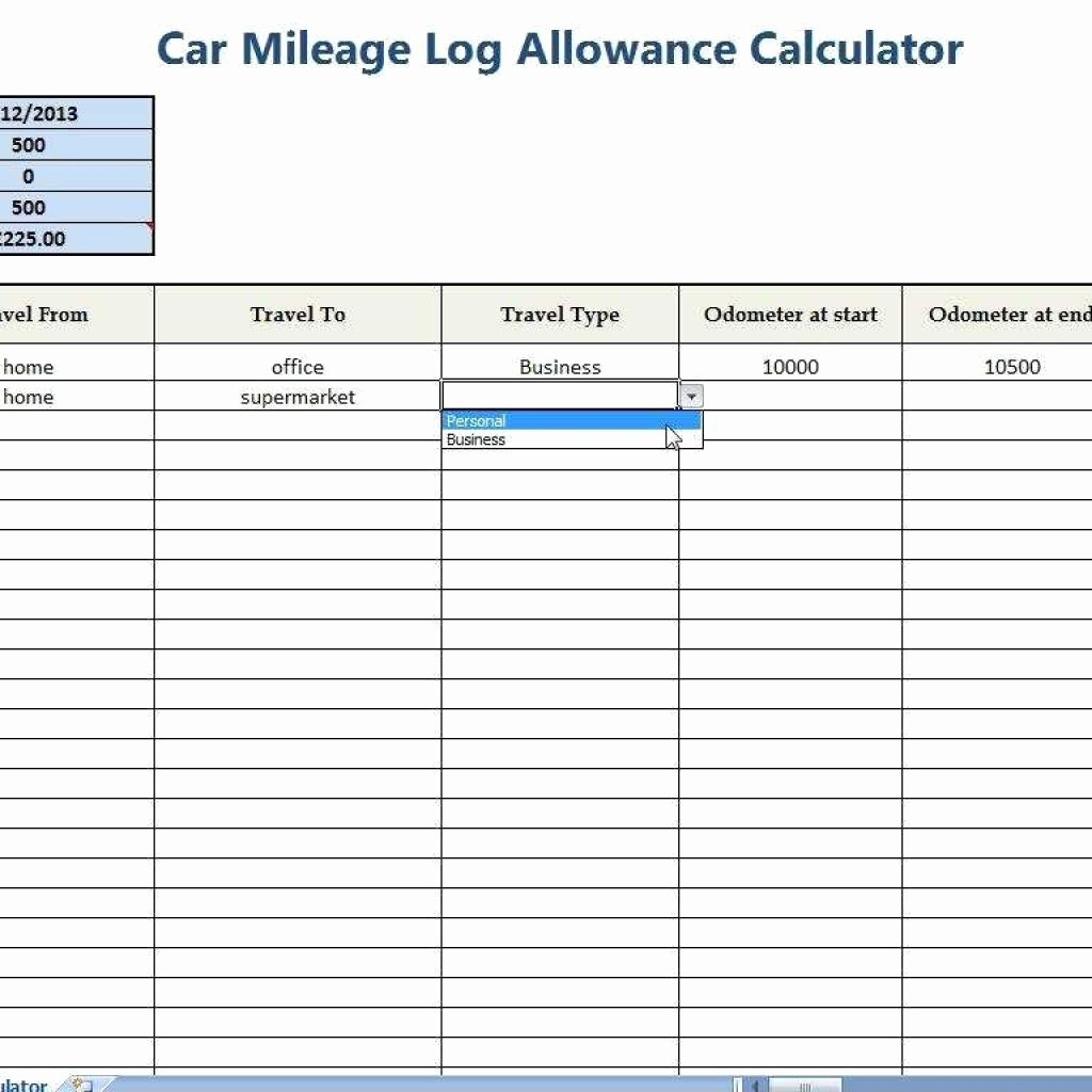 Example Mileage Log for Taxes Beautiful Mileage Log Template Pdf Mileage Log Template for Self
