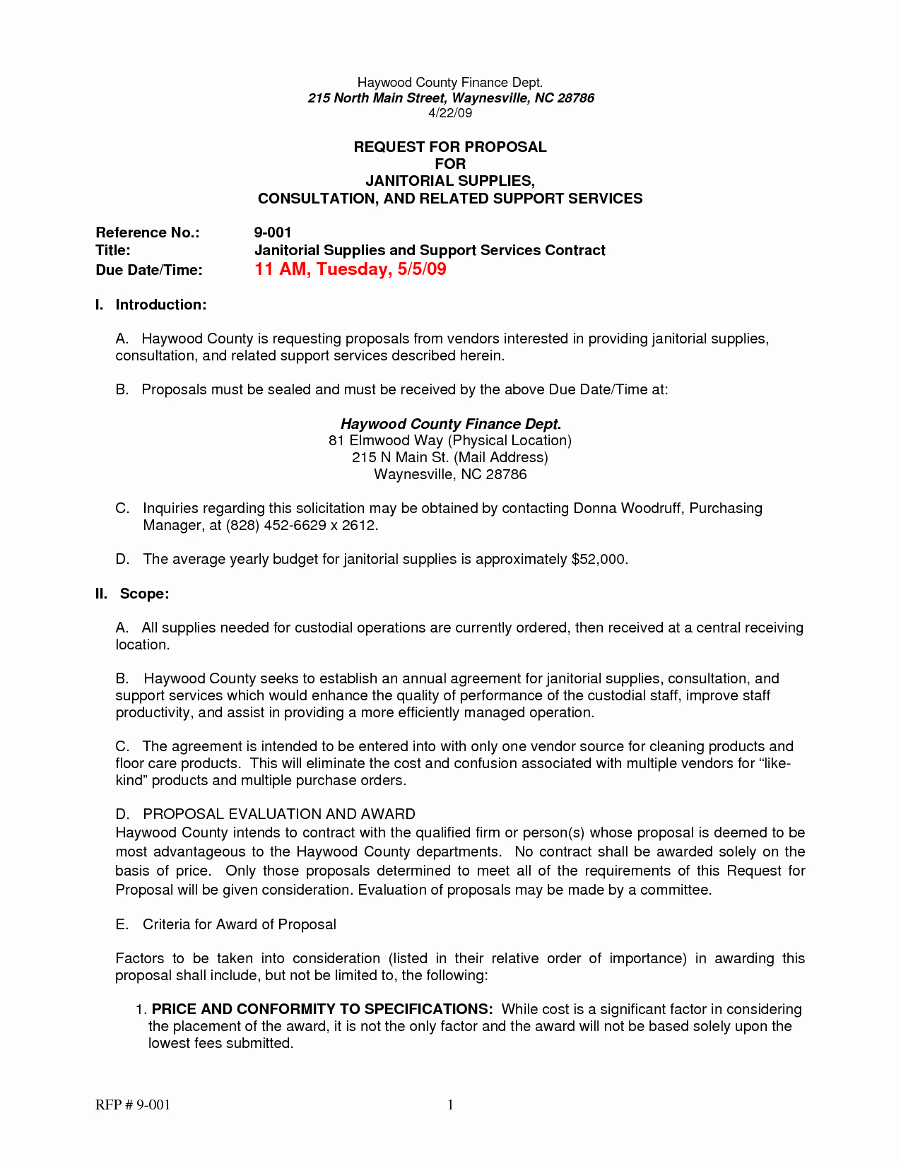 Example Of A Bid Proposal Beautiful Best S Of Request for Proposal Letter Example