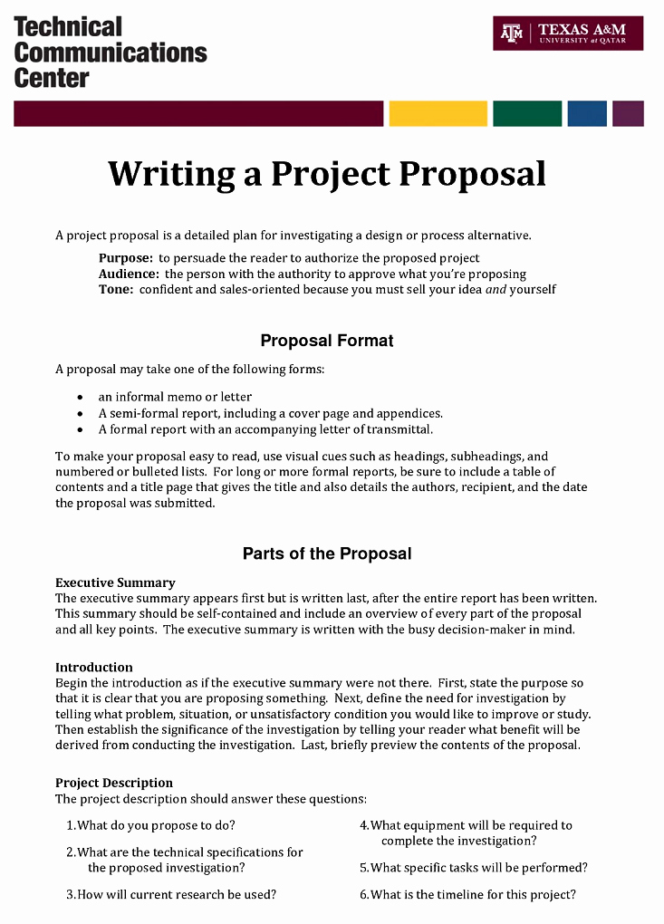 Example Of A Bid Proposal Best Of How to Write A Proposal that Never Fails to Get Clients