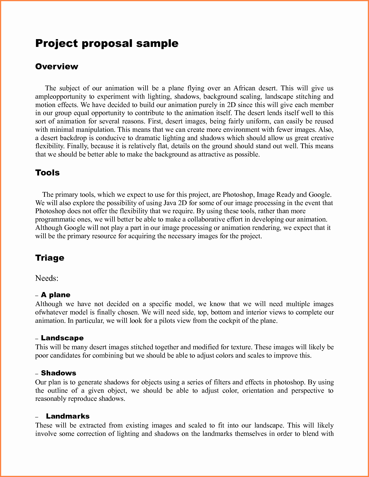 Example Of A Bid Proposal New 9 Template for Writing A Proposal for A Project