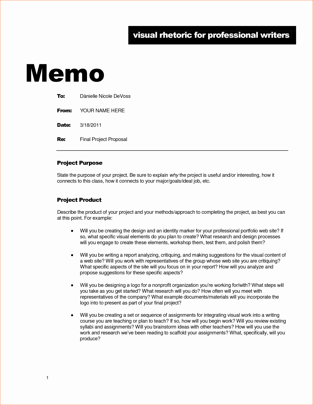 Example Of A Memo format Awesome 7 Business Memo Example