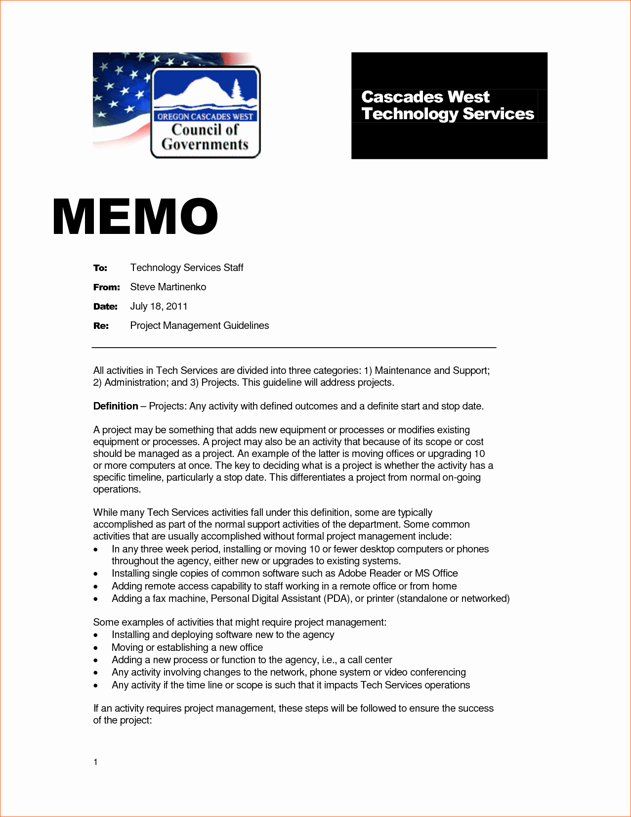 Example Of A Memo format Luxury 13 Examples Of Memos
