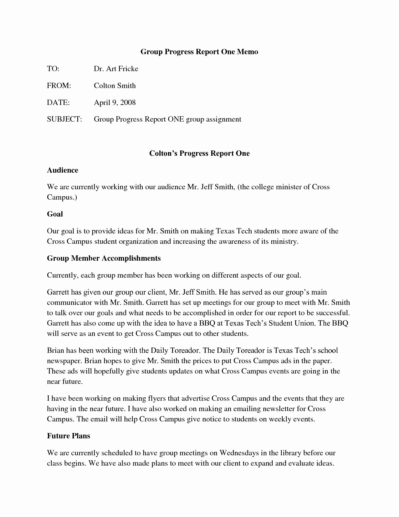 Example Of A Memo format Unique 12 format Of Memo Report