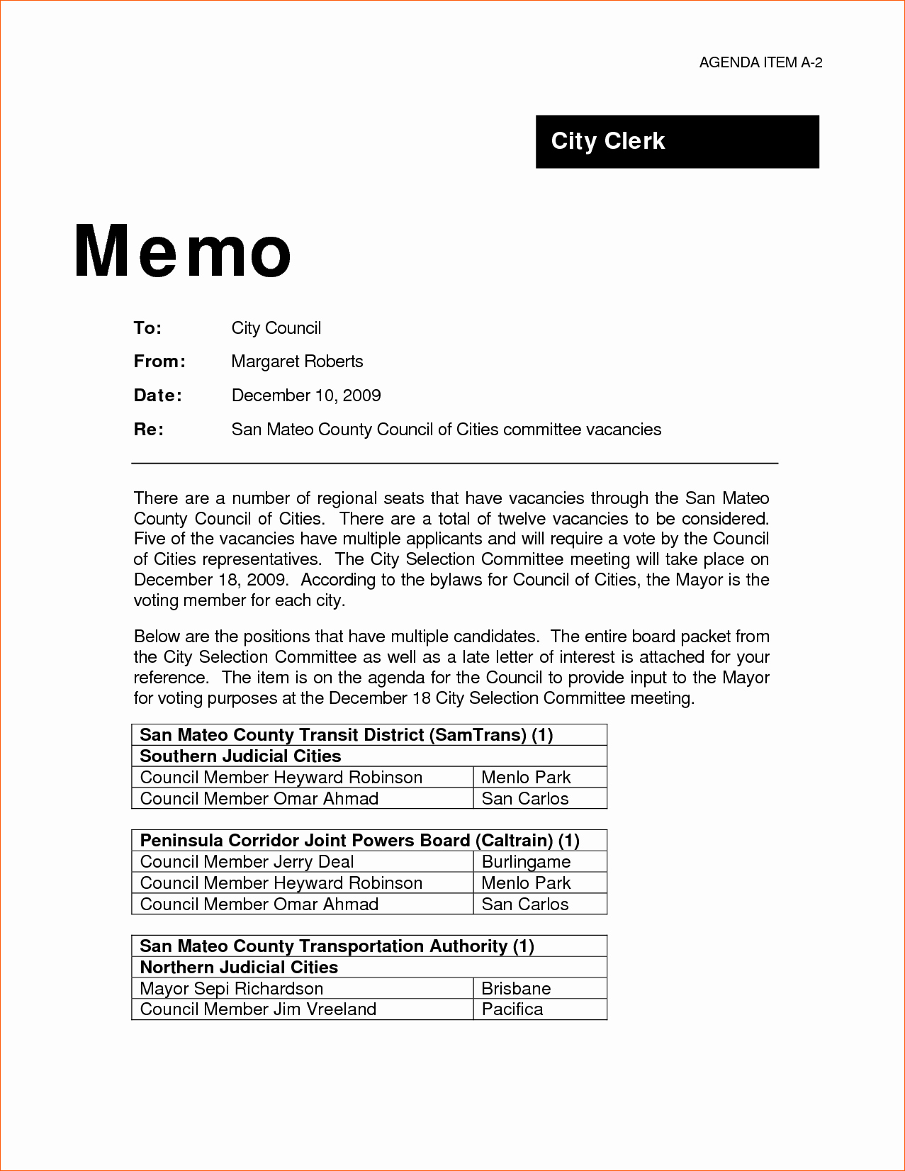 Example Of A Memo format Unique 9 Professional Memo Template