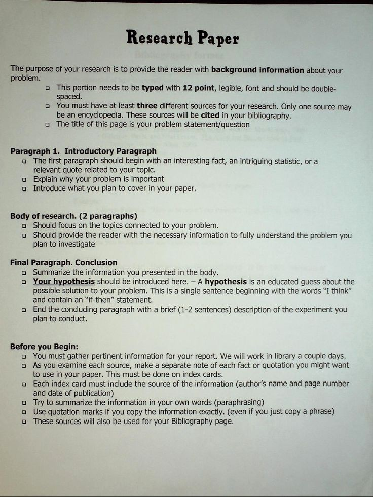 Example Of A Report Paper Inspirational Image Result for Science Research Paper Outline Example