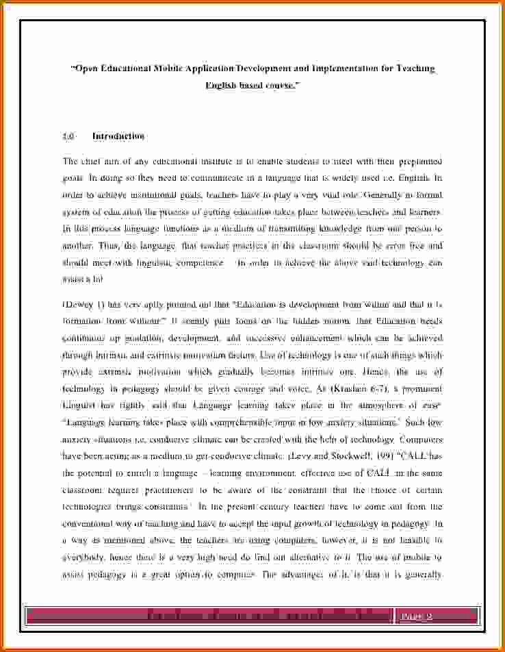 Example Of A Report Paper Luxury Introduction to Research Papers
