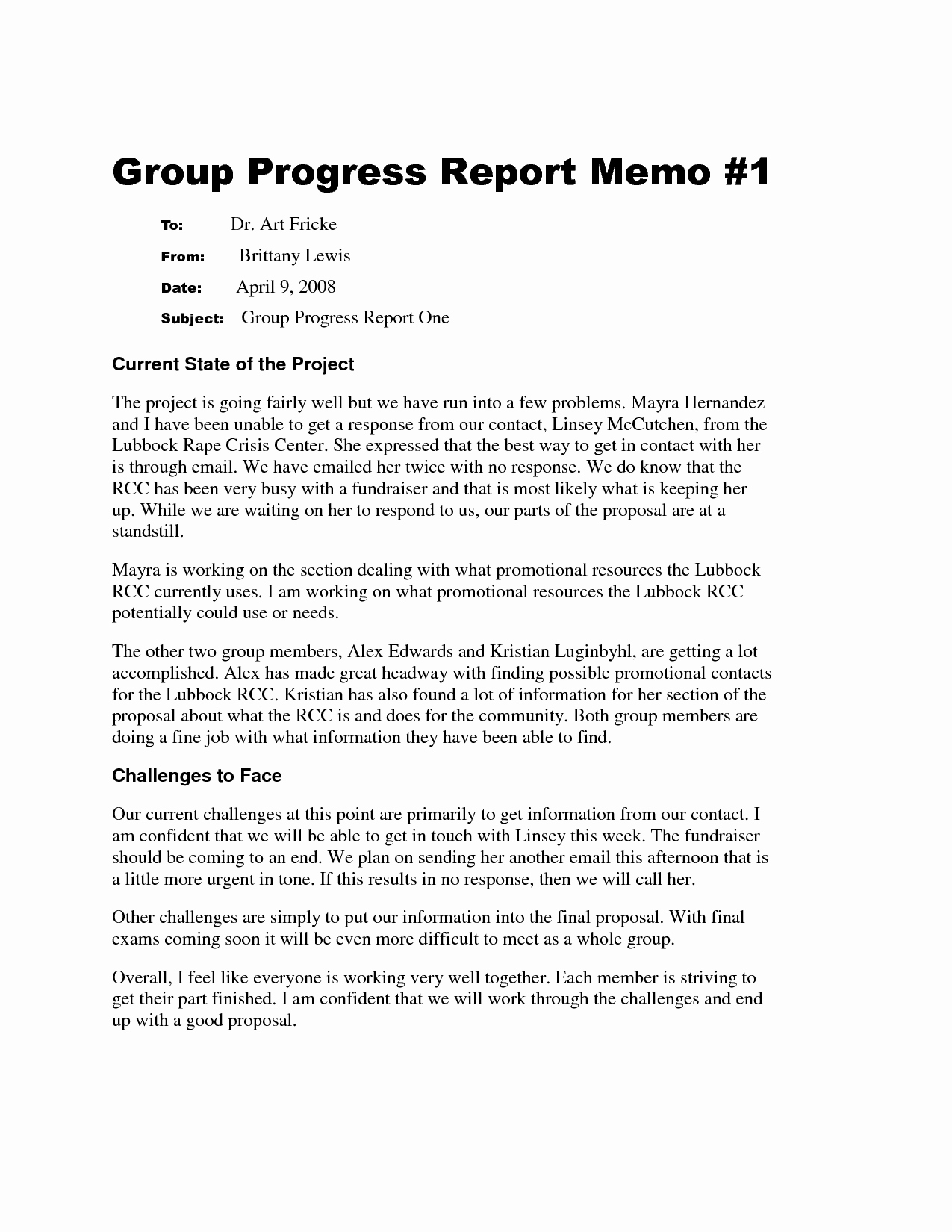 Example Of A Short Memo Fresh How to Write A Short Report In Memo format