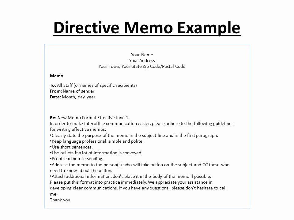 Example Of A Short Memo Inspirational Memo Writing Ppt Video Online