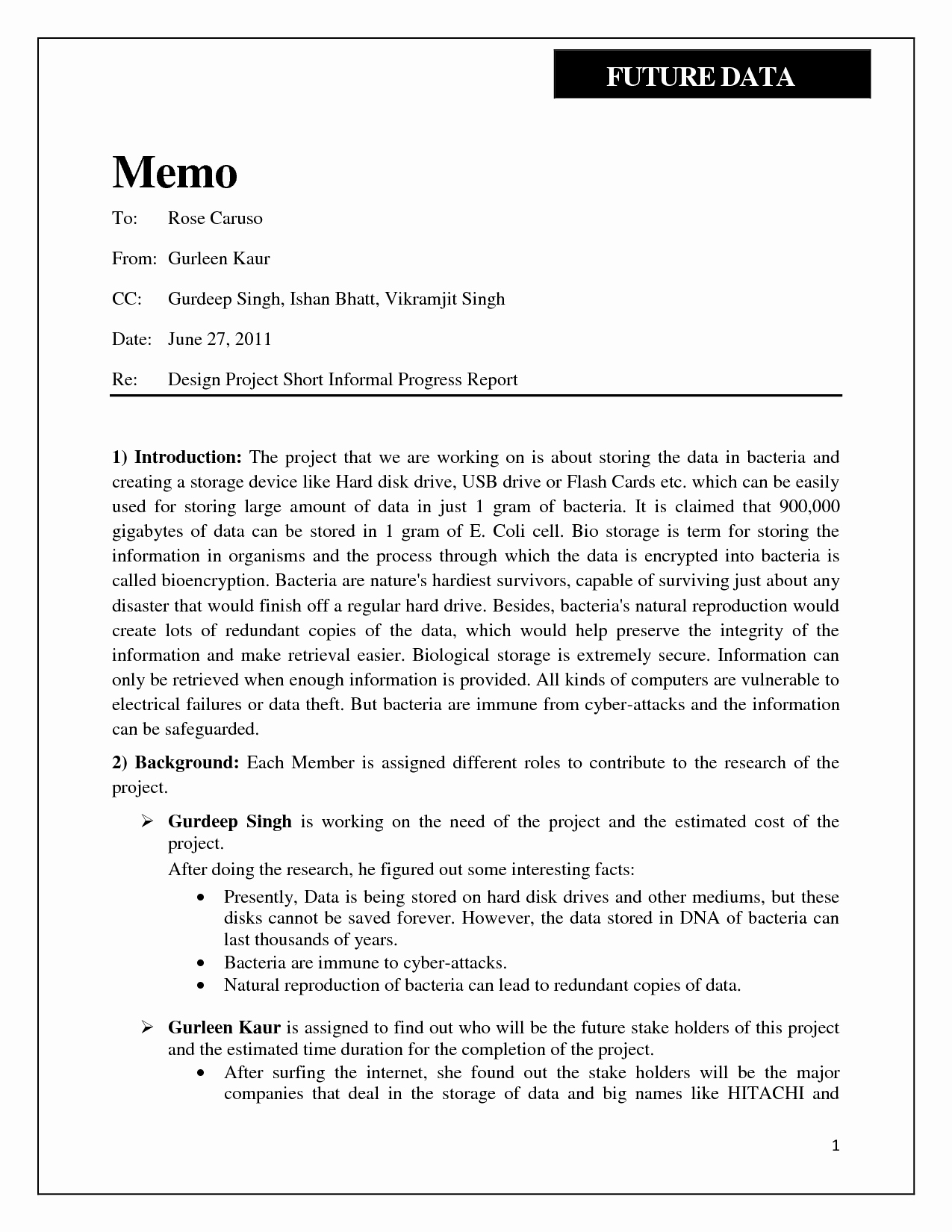 Example Of A Short Memo Lovely Short Report Example Portablegasgrillweber