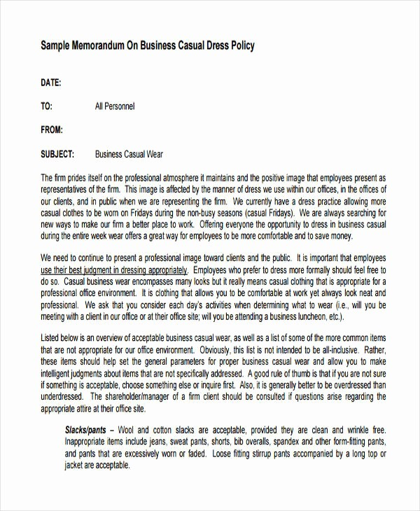 Example Of A Short Memo Luxury Memo Examples