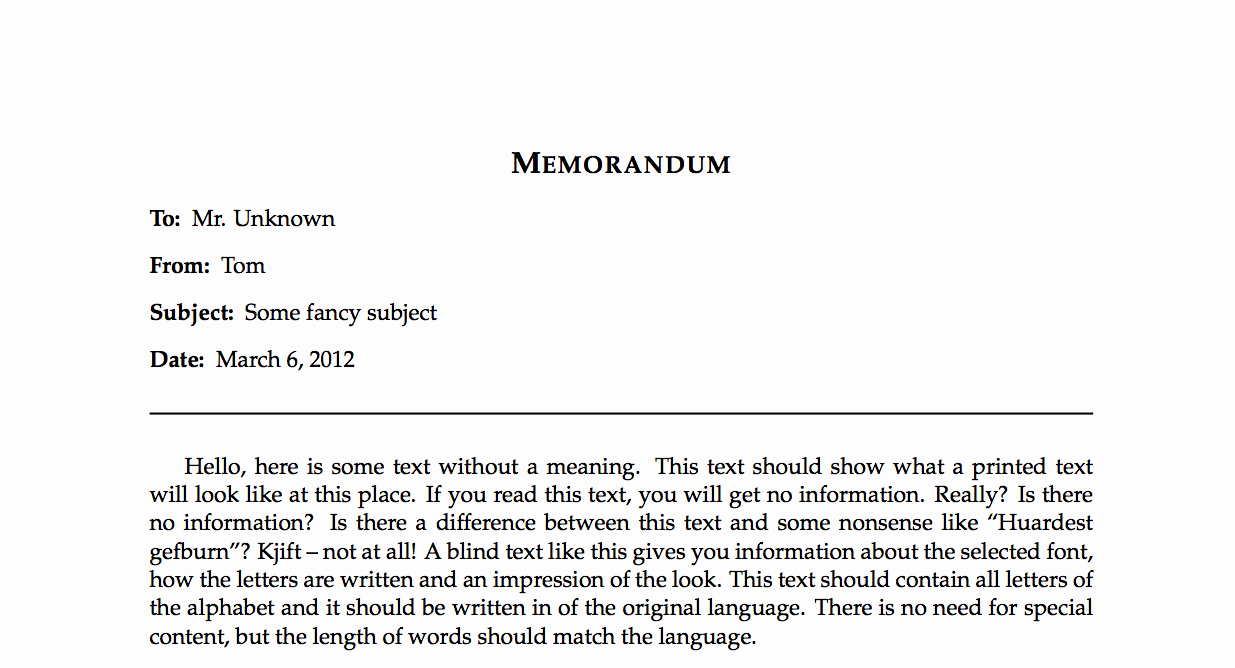 Example Of A Short Memo Luxury My English Work Short Report and Memos