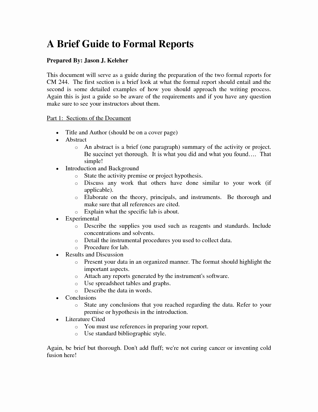 Example Of A Short Memo New Best S Of A Example Justification Report formal