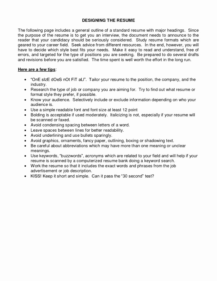 Example Of A Simple Resume Fresh top 25 Best Basic Resume Examples Ideas On Pinterest