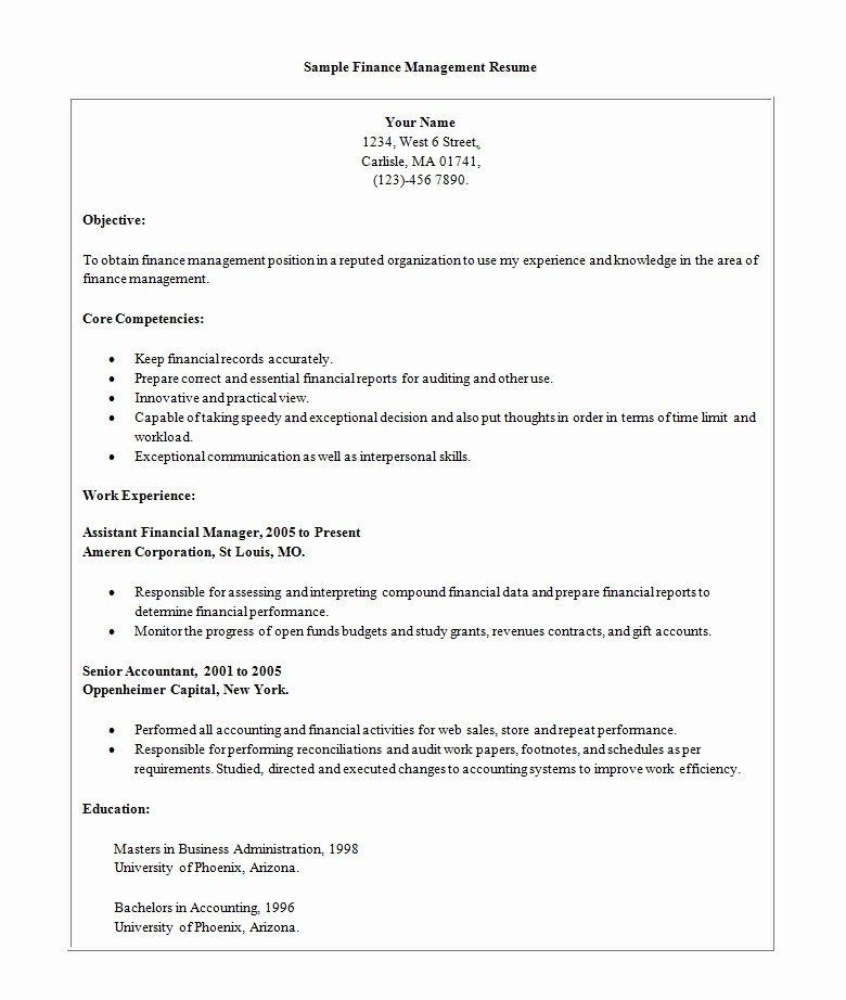 Example Of A Simple Resume Lovely Simple Resume Template 46 Free Samples Examples