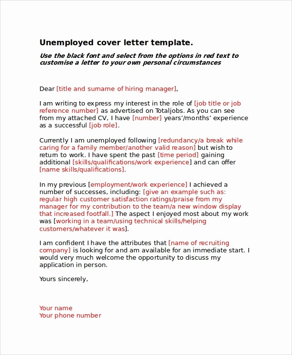 Example Of Basic Cover Letter Inspirational 8 Basic Cover Letter Samples