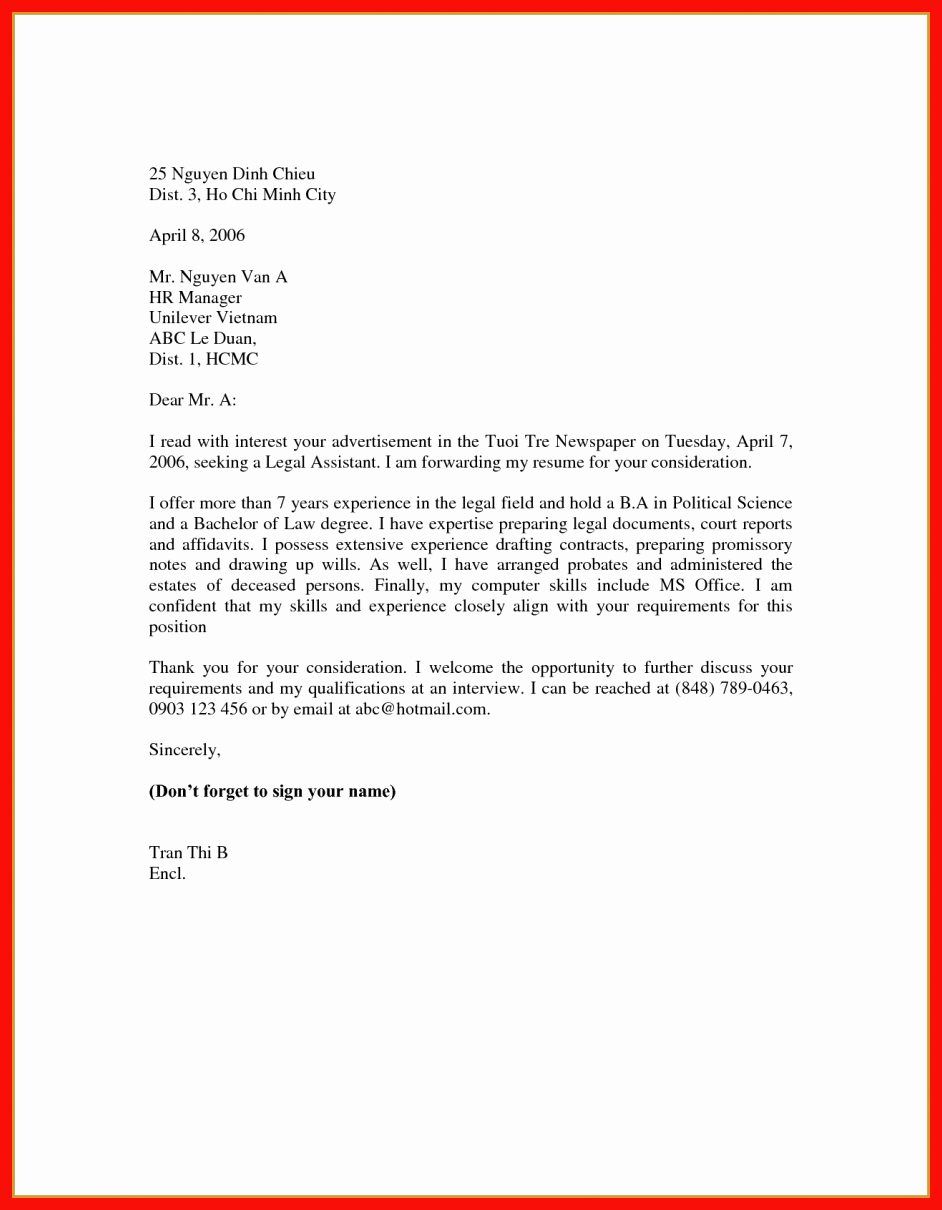 Example Of Basic Cover Letter Inspirational Easy Cover Letter Samples