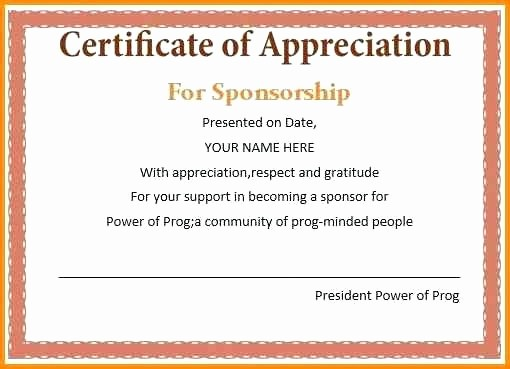 Example Of Certificate Of Appreciation Inspirational Certificate Of Recognition Wordings – Puebladigital