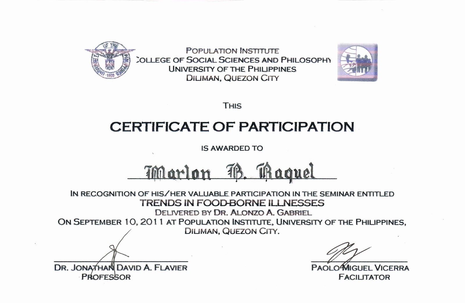 Example Of Certificate Of Appreciation Luxury Example Certificate Appreciation Guest Speaker