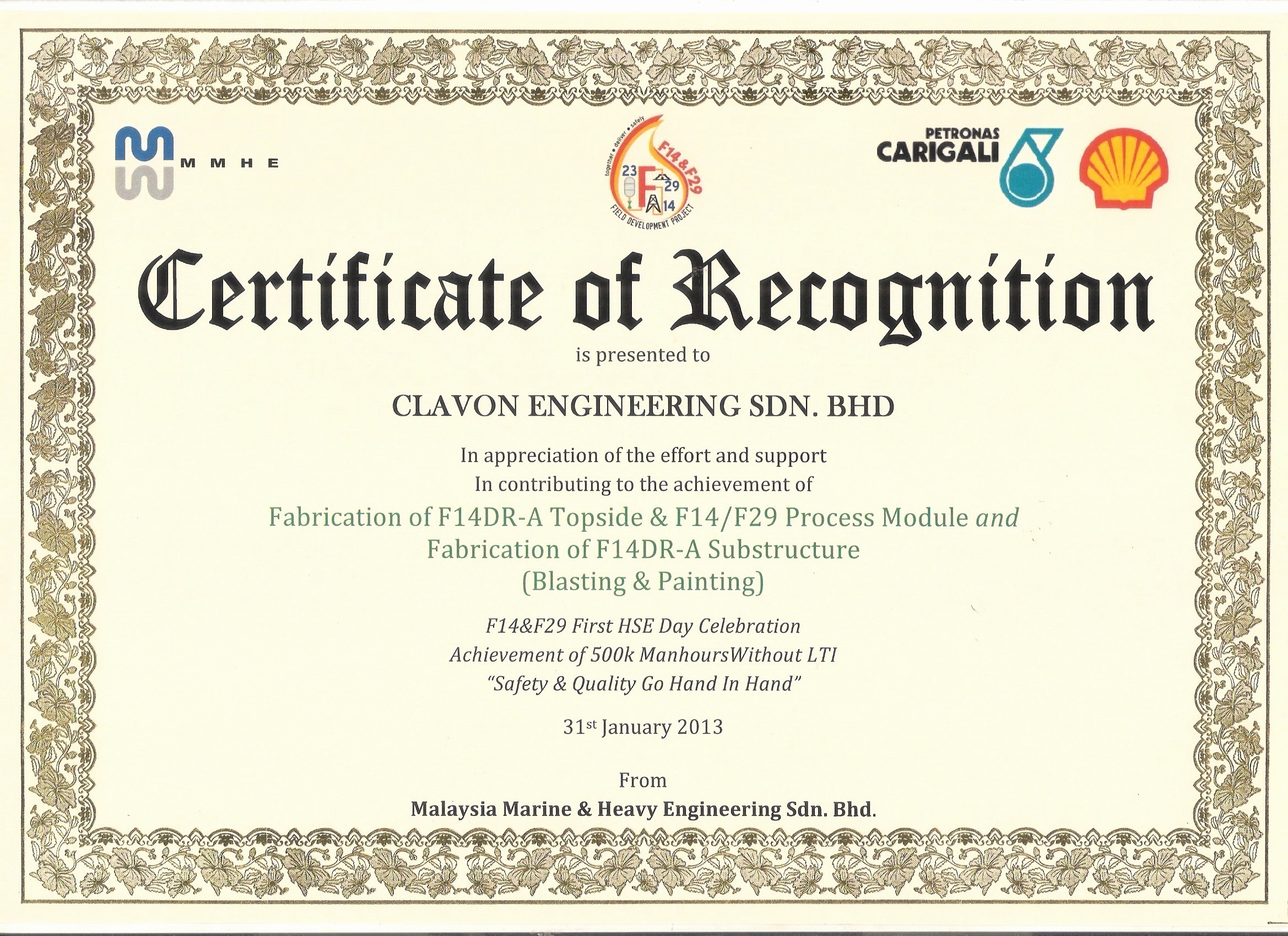 Example Of Certificate Of Appreciation Luxury Examples Certificates Appreciatio Sample Certificate