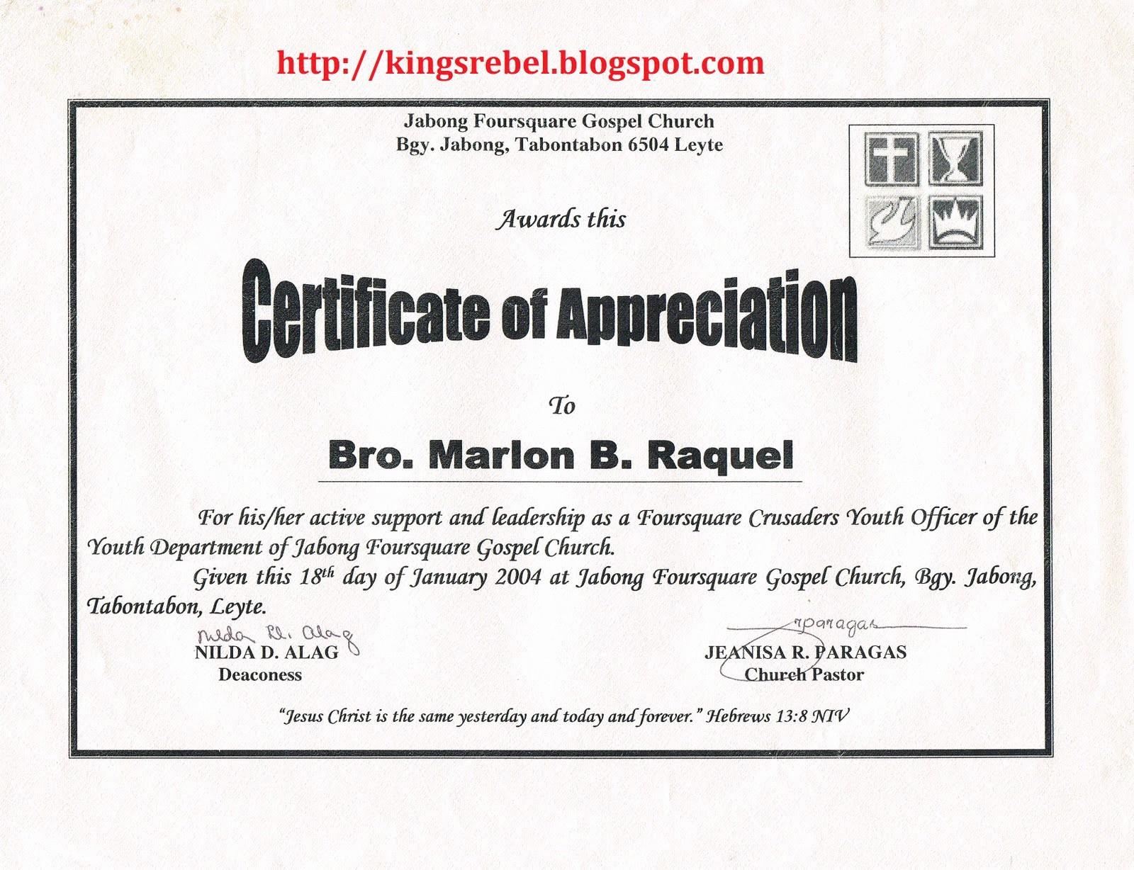 Example Of Certificate Of Appreciation Unique Tidbits and bytes Example Of Certificate Of Appreciation