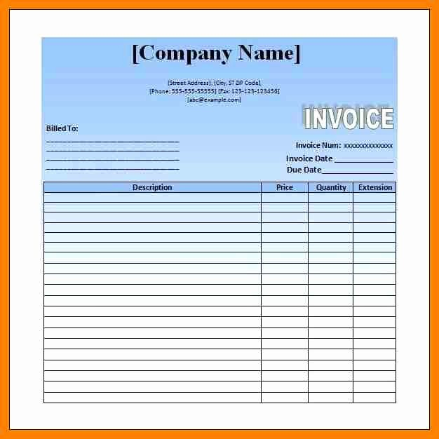 Example Of Invoice for Services Elegant 6 Examples Of Invoices for Services Rendered