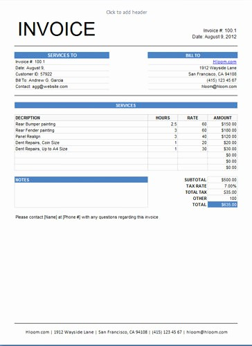 Example Of Invoice for Services New Lawn Care Service Quote Template Image Quotes at Relatably