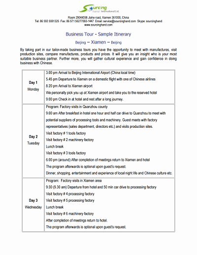 Example Of Itinerary for tour Luxury Trip Itinerary Template Free Download Edit Fill Create