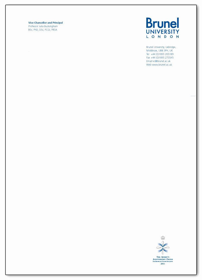 Example Of Letter Headed Paper Awesome Letterhead Examples