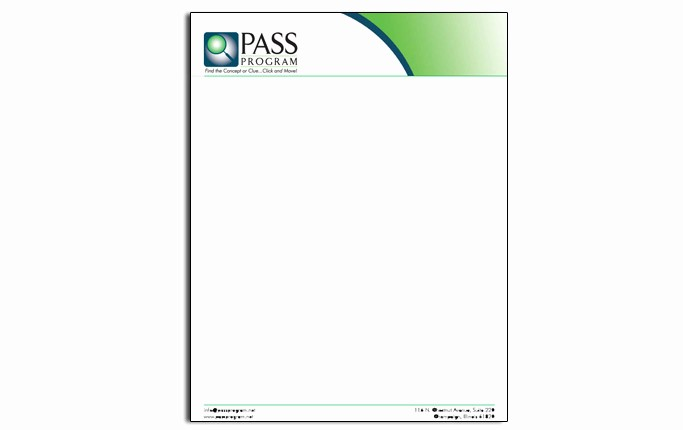 Example Of Letter Headed Paper New Sample Letterhead Design