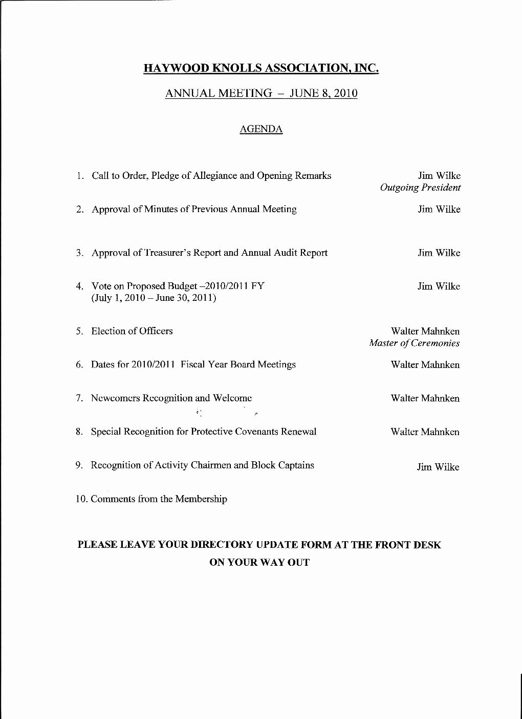Example Of Meeting Agenda format Best Of Agenda Template Doc Features Sample Resume Church Business