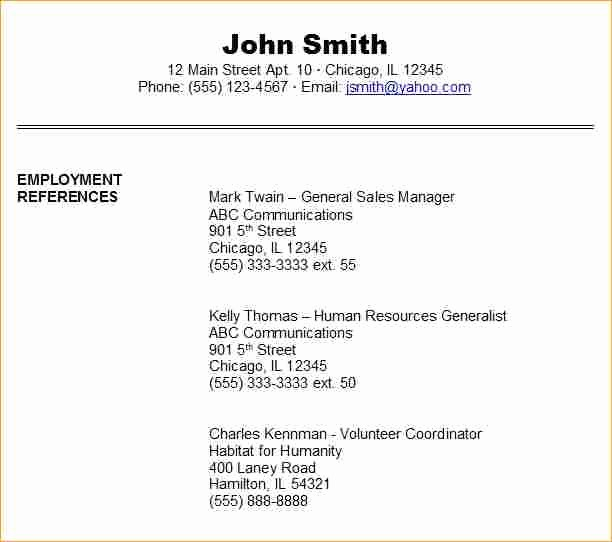 Example Of Professional References Page Unique What is A Resume for Jobs