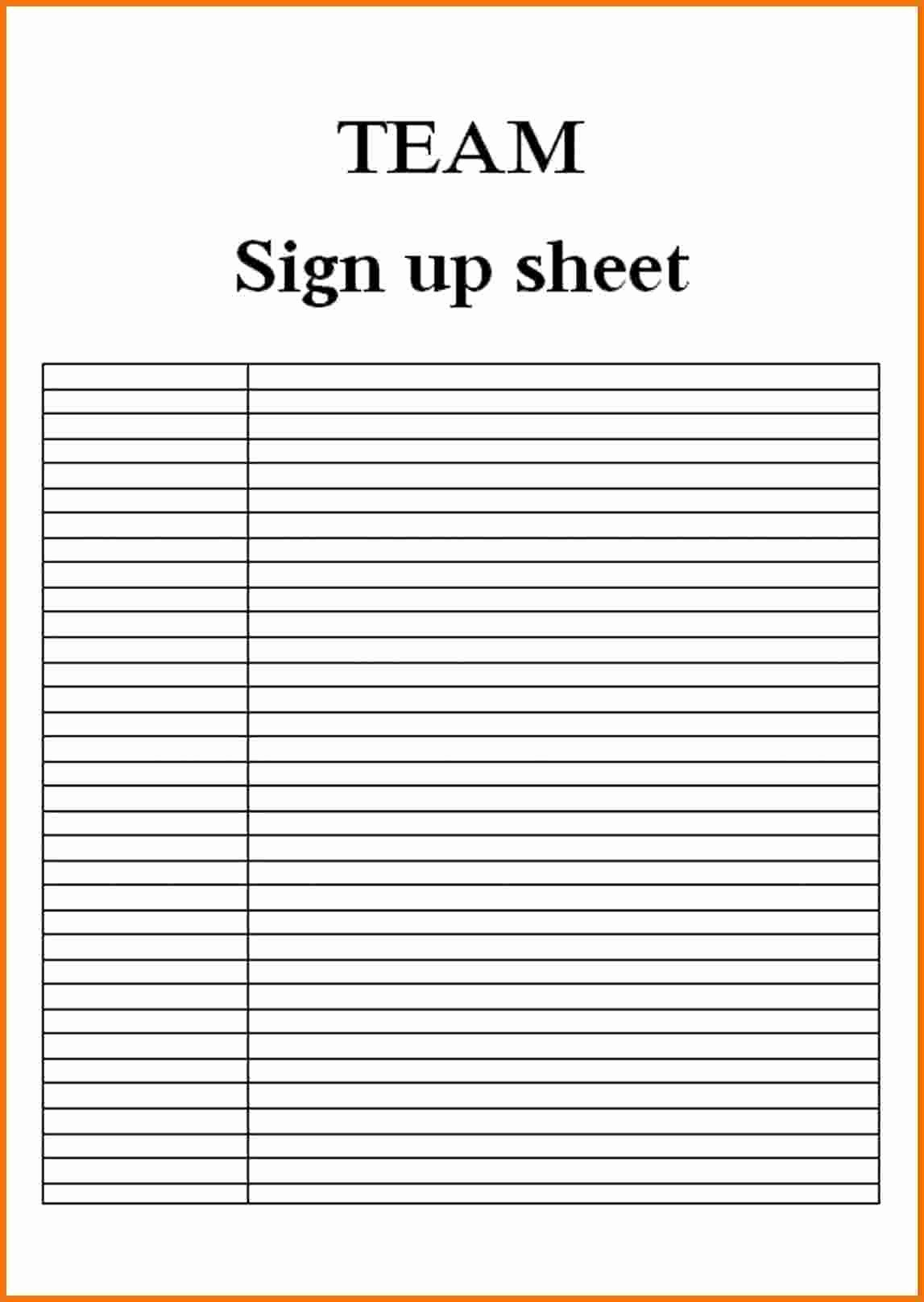 Example Of Sign In Sheet Lovely Blank Sign In Sheet Example Mughals