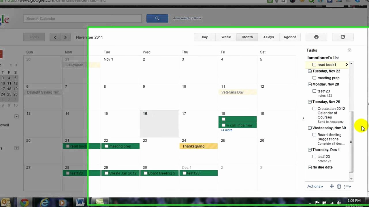 Example Of to Do List Lovely How to Create A to Do List Using Google Calendar
