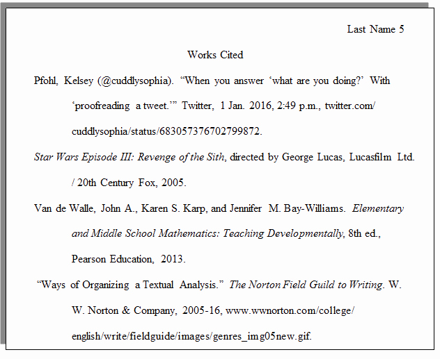 Example Of Work Cited Mla Elegant How Do I Set Up A Paper with Mla formatting