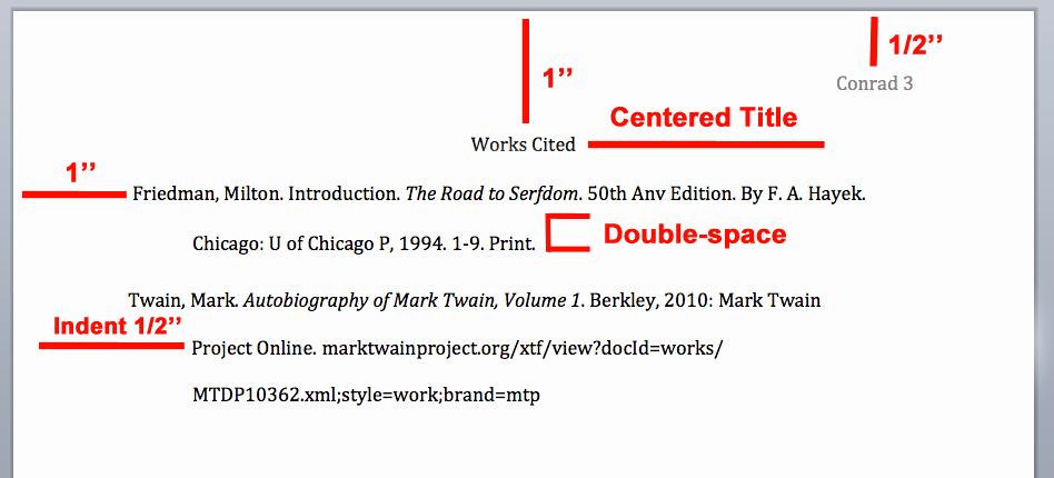Example Of Work Cited Mla Elegant Mla Citation Style Overview Writing Explained