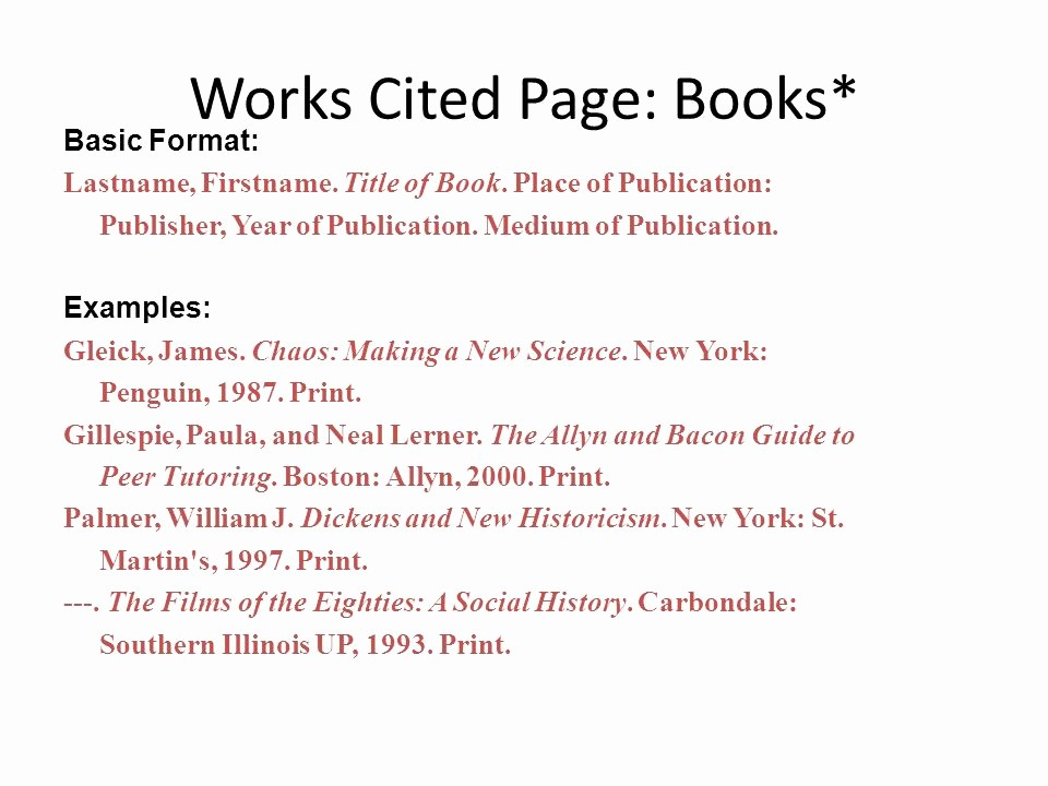 Example Of Works Cited Pages Luxury What Does This Quote Mean Ppt