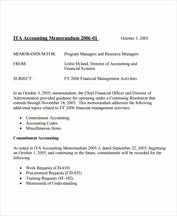 Examples Of A Business Memo Lovely Business Memo format 20 Sample Word Google Docs format