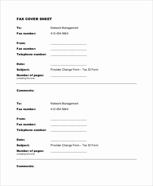 Examples Of Fax Cover Sheets Awesome 9 Sample Fax Cover Sheets