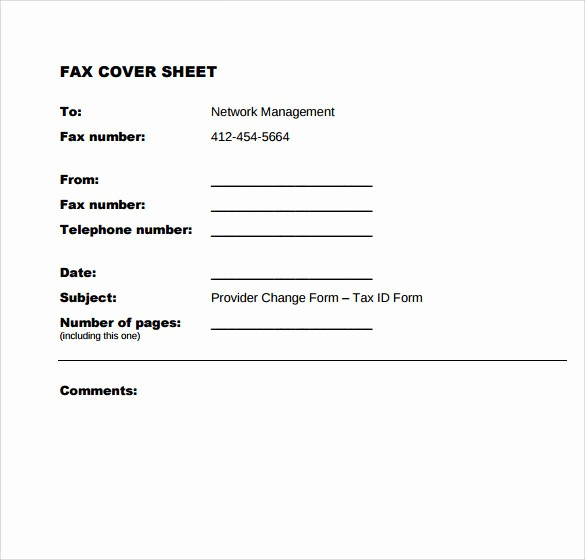 Examples Of Fax Cover Sheets Elegant 9 Sample Fice Fax Cover Sheets
