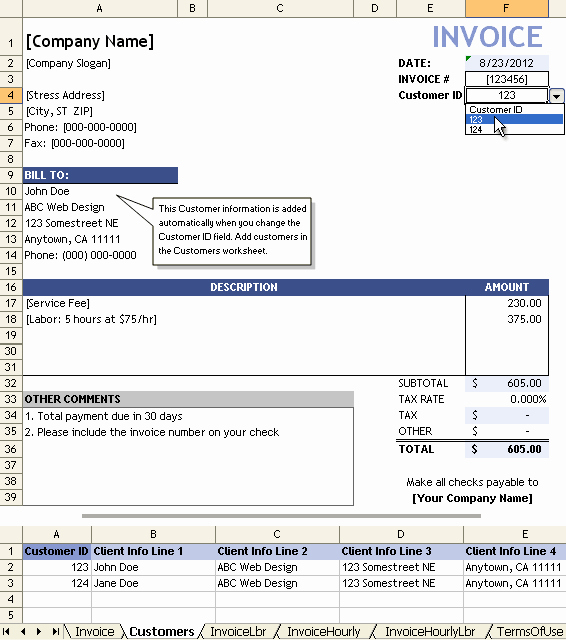Examples Of Invoices for Services Elegant Service Invoice Template for Consultants and Service Providers