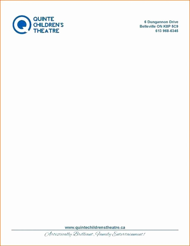 Examples Of Letterheads for Business Awesome Pany Letterhead Examples Letterhead Sample Letterhead