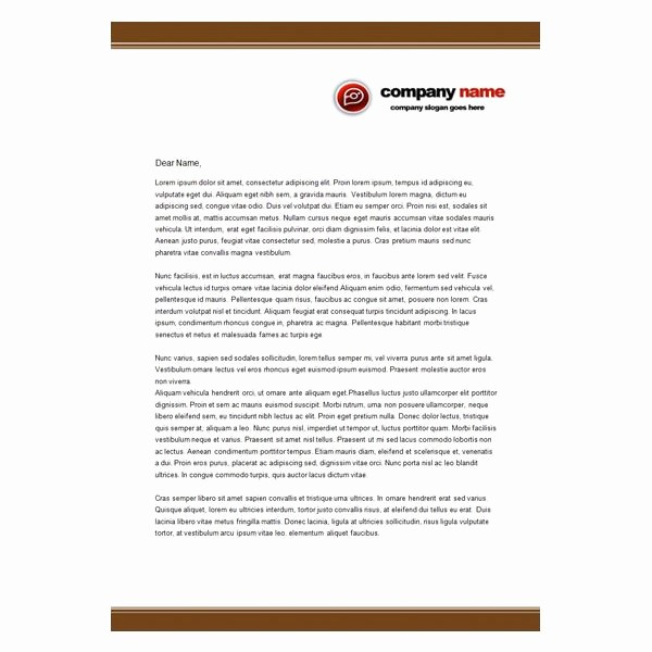 Examples Of Letterheads for Business Inspirational Ten Best Free Business Letterhead Templates